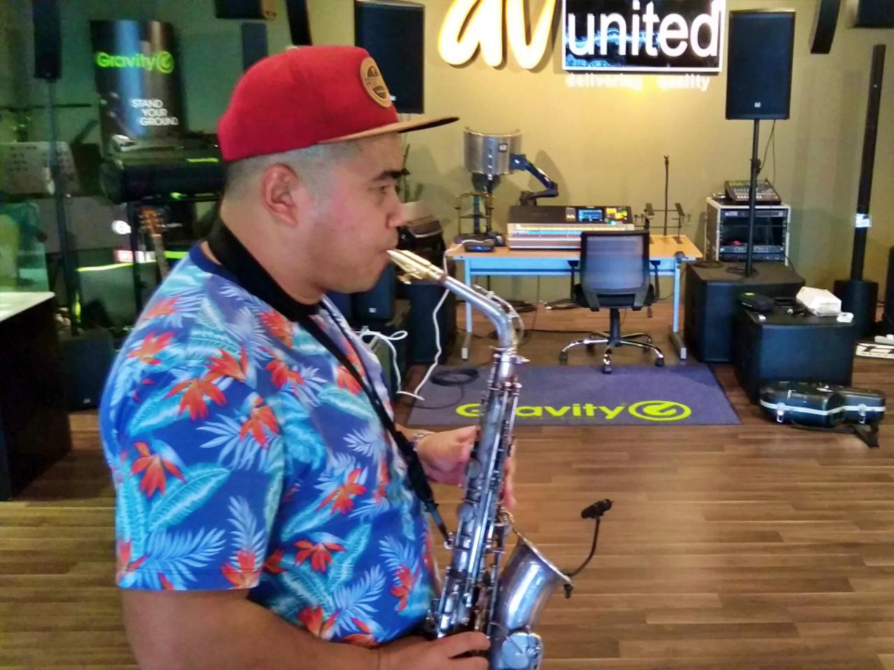 Syafiq Zakaria The Saxophonist